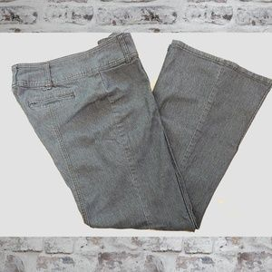Casual Bisou Bisou Wide Flair Trouser Jeans